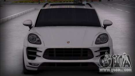 Porsche Macan Turbo for GTA San Andreas back left view
