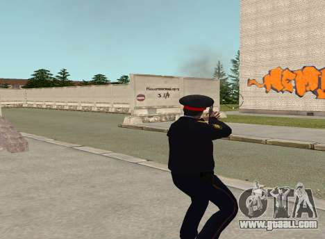 Sergeant police for GTA San Andreas forth screenshot