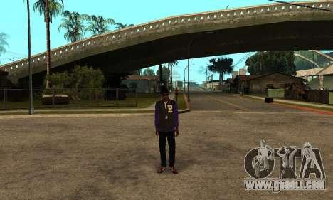 The Ballas Skin Pack for GTA San Andreas third screenshot