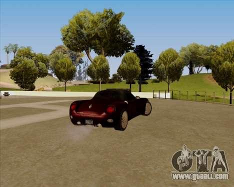 Stinger for GTA San Andreas left view
