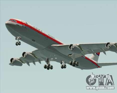Airbus A340-300 Air Koryo for GTA San Andreas engine