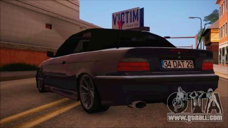 BMW M3 E36 Cabrio 34 DAT 29 for GTA San Andreas left view