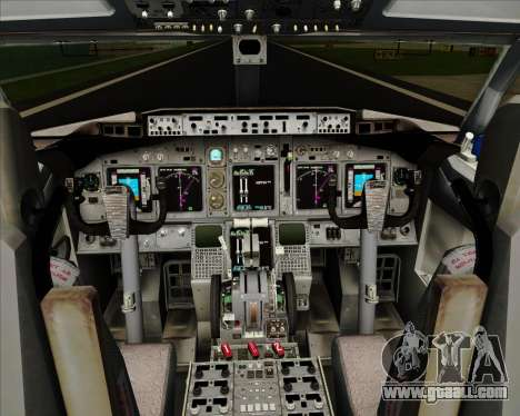 Boeing 737-800 Delta Airlines for GTA San Andreas interior