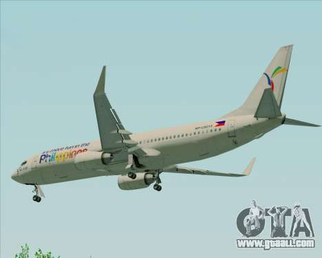Boeing 737-800 South East Asian Airlines (SEAIR) for GTA San Andreas bottom view