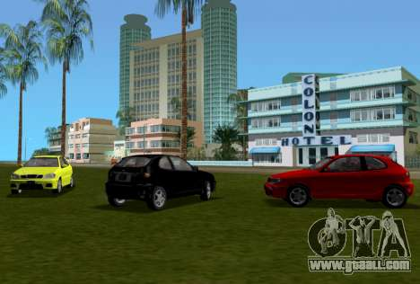 Daewoo Lanos Sport US 2001 for GTA Vice City upper view