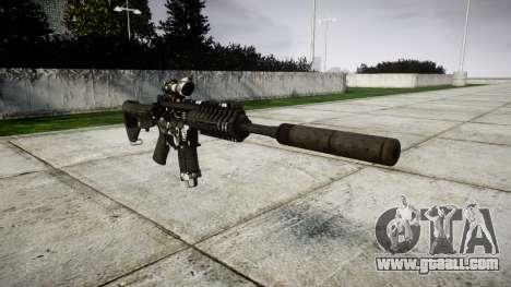Machine P416 ACOG silencer PJ3 for GTA 4