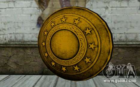 Old Gold Shield for GTA San Andreas