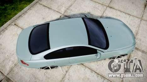 BMW M6 Vossen VVS CV3 for GTA 4 right view