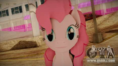 Pinkie Pie from My Little Pony for GTA San Andreas third screenshot