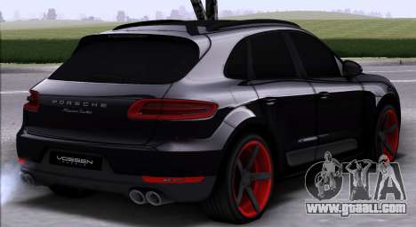 Porsche Macan Vossen for GTA San Andreas right view