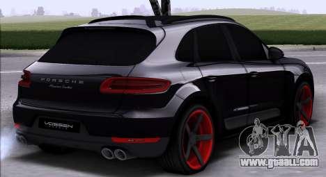 Porsche Macan Vossen for GTA San Andreas right view