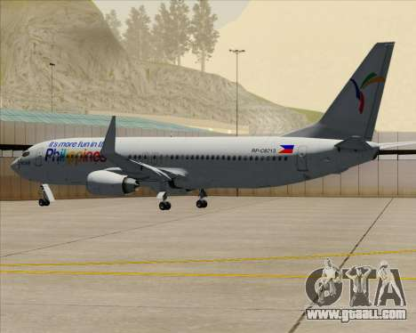 Boeing 737-800 South East Asian Airlines (SEAIR) for GTA San Andreas upper view