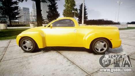 Chevrolet SSR for GTA 4 left view