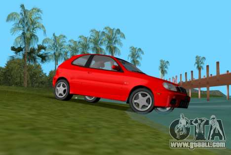 Daewoo Lanos Sport US 2001 for GTA Vice City right view
