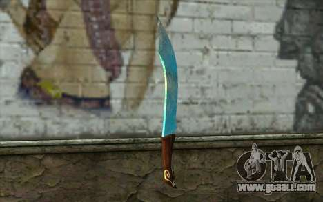 Diamond knife for GTA San Andreas second screenshot