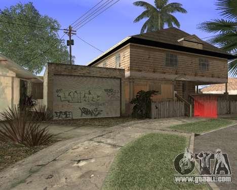 Texture Los Santos from GTA 5 for GTA San Andreas fifth screenshot