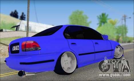 Honda Civic 34 TS 9640 INDIGO for GTA San Andreas left view