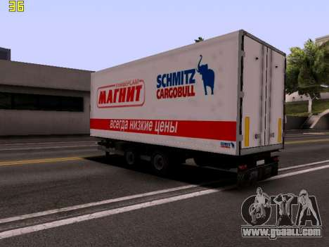 Trailer Magnit for GTA San Andreas left view