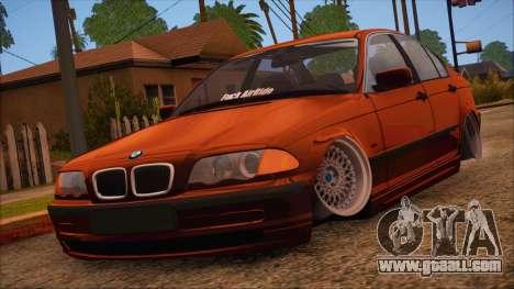 BMW M3 E46 Sedan for GTA San Andreas