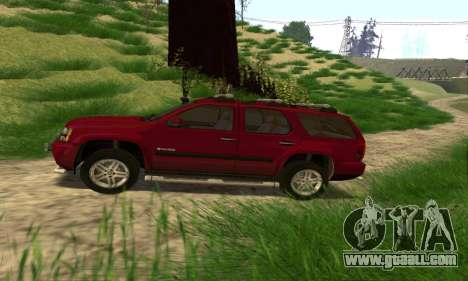 Chevrolet Tahoe Final for GTA San Andreas left view