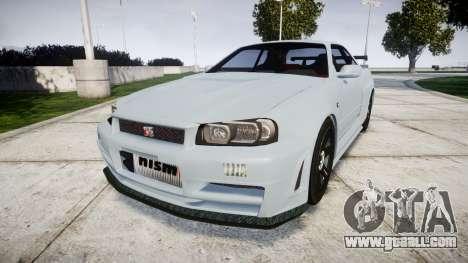 Nissan Skyline R34 GT-R NISMO Z-tune [RIV] for GTA 4