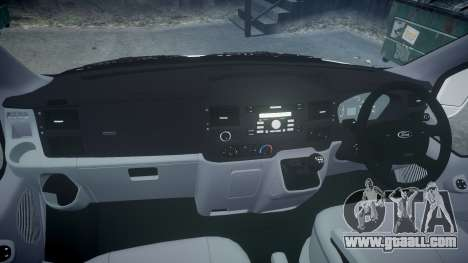 Ford Transit 2011 SuperSportVan for GTA 4 back view