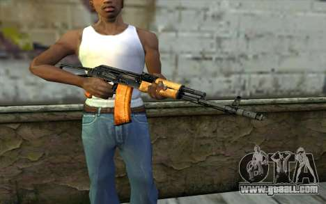 AKC74 with Butt for GTA San Andreas third screenshot