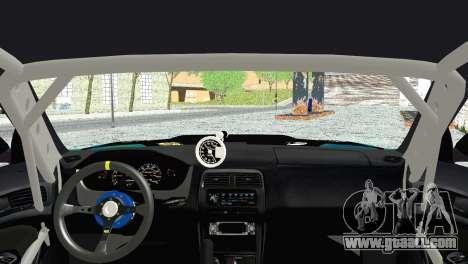 Nissan Silvia S14 Falken for GTA San Andreas back left view