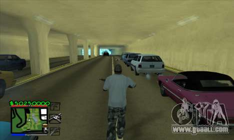 C-HUD by Niko for GTA San Andreas second screenshot
