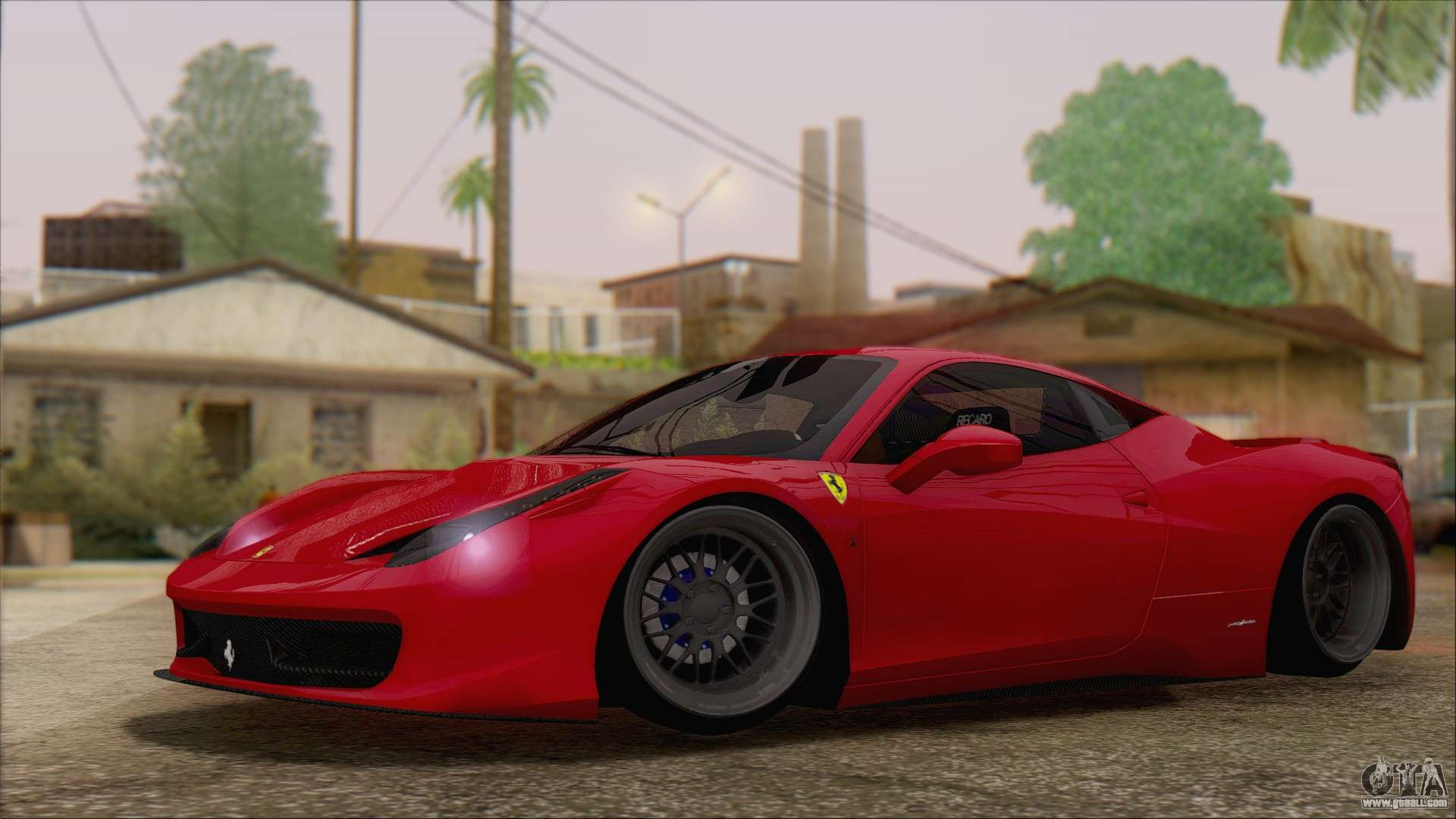 Ferrari 458 italia for gta san andreas for Be italia