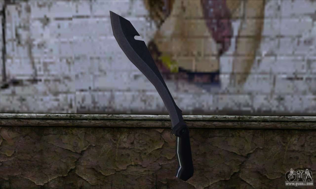 Machete From Far Cry For Gta San Andreas