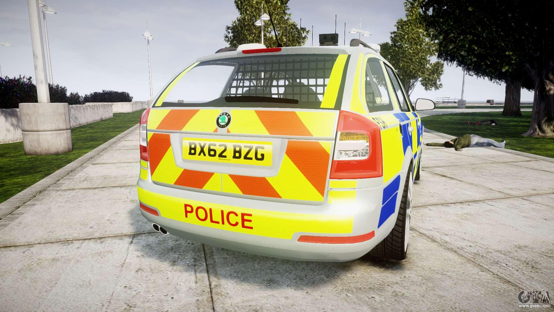 Skoda Octavia vRS b Metropolitan Police [ELS] for GTA 4