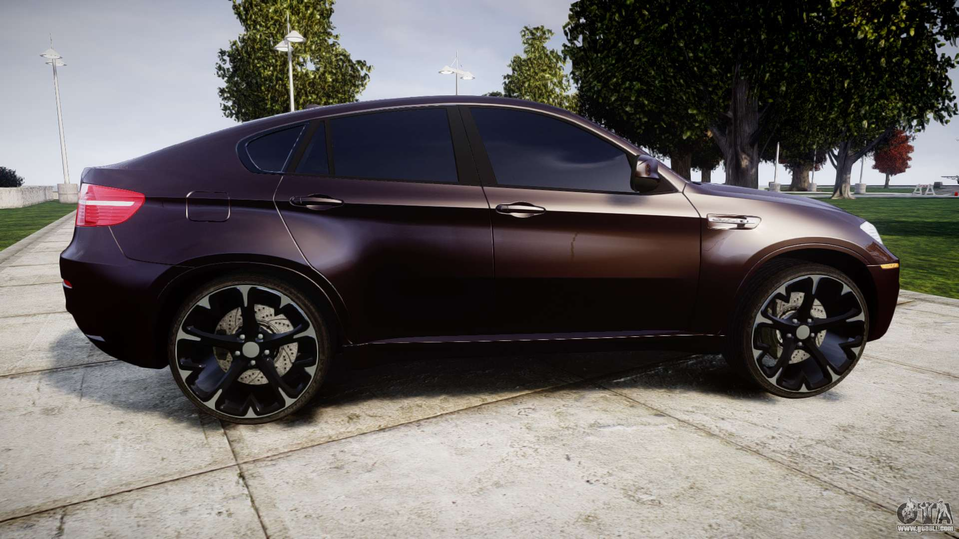 BMW X6M rims2 for GTA 4