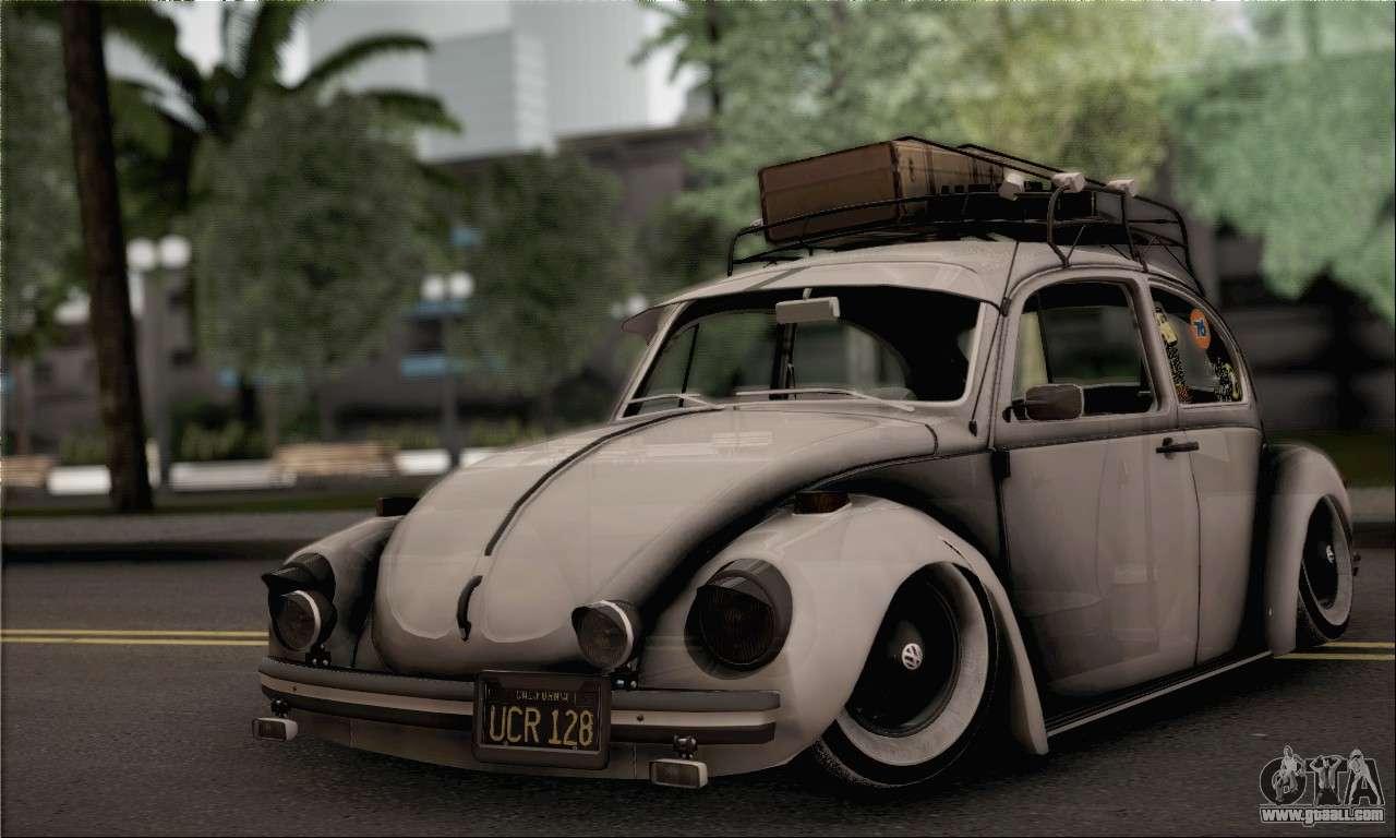 volkswagen beetle for gta san andreas. Black Bedroom Furniture Sets. Home Design Ideas