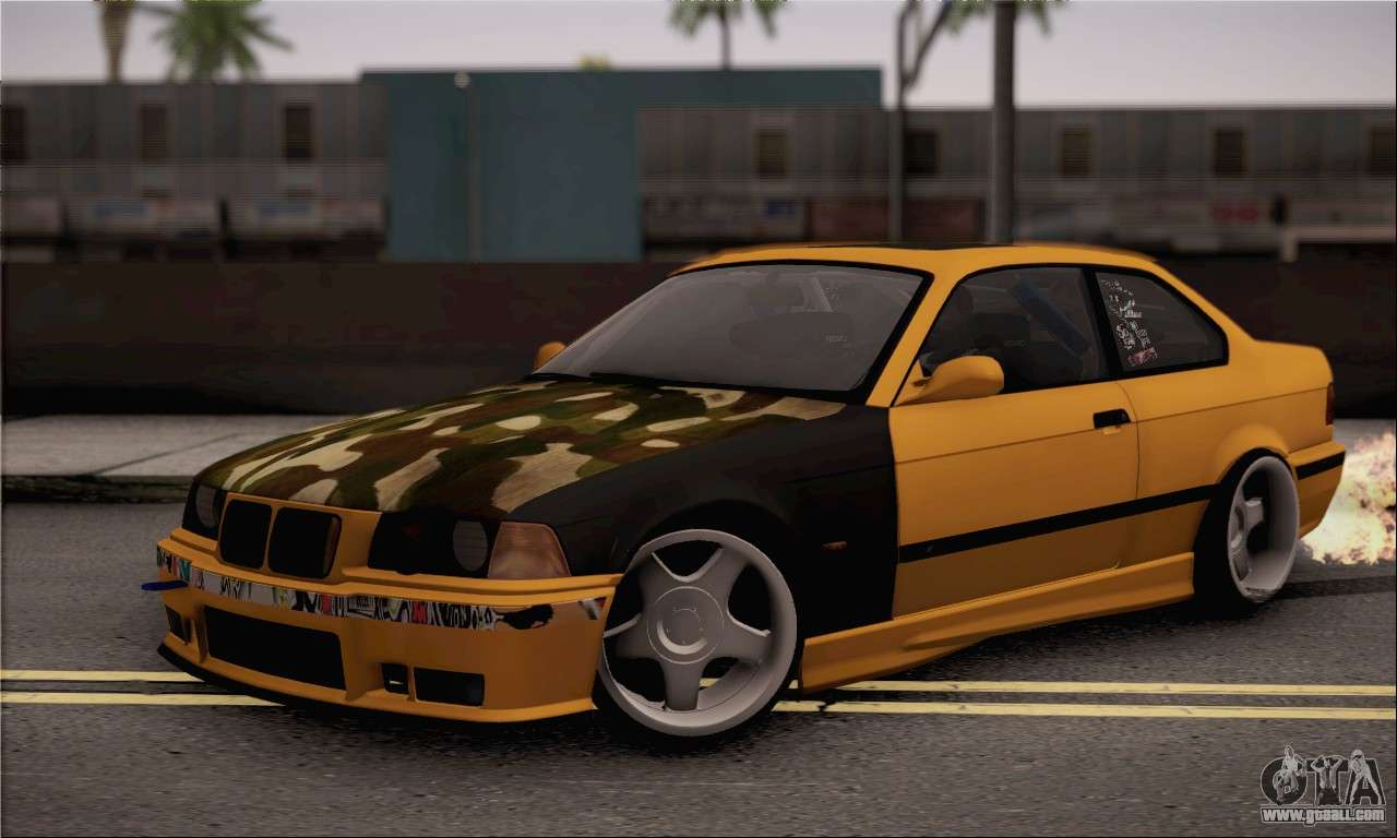bmw m3 e36 drift for gta san andreas. Black Bedroom Furniture Sets. Home Design Ideas