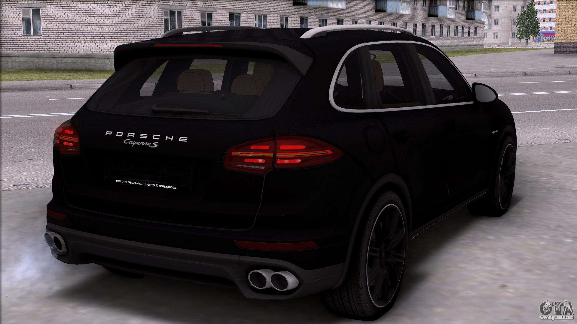 Porsche Cayenne Hybrid 2015 For Gta San Andreas