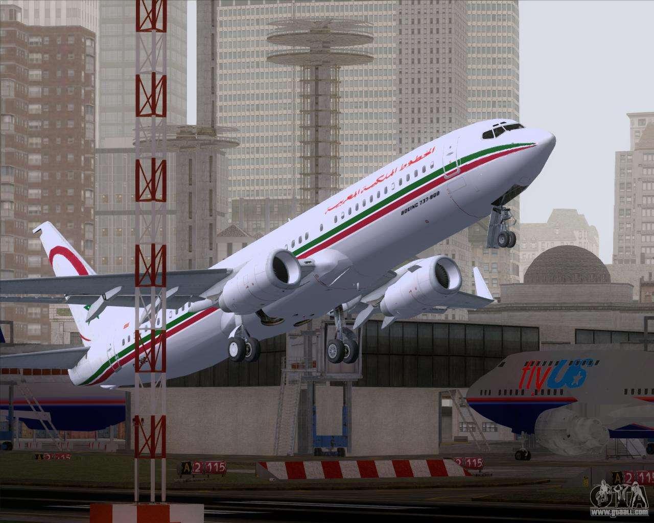 Boeing 737-8B6 Royal Air Maroc (RAM) for GTA San Andreas