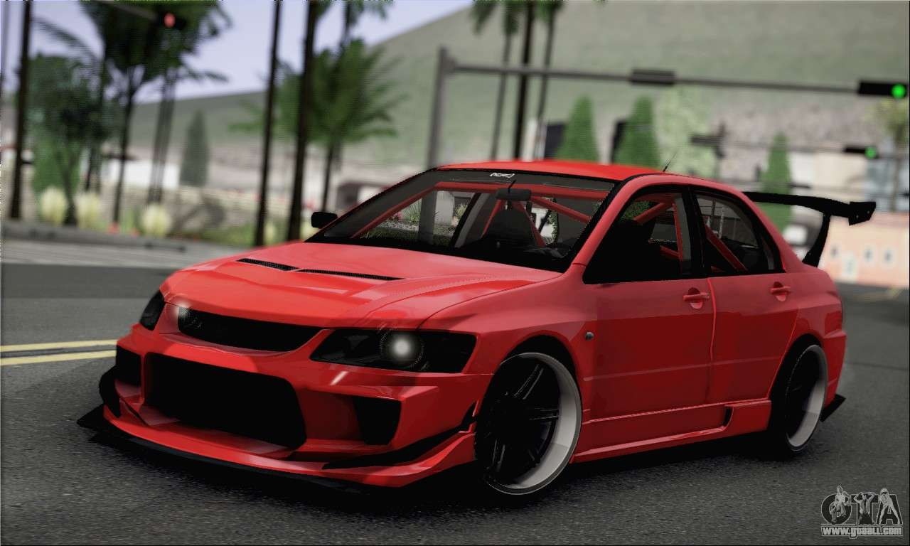 mitsubishi lancer evo ix for gta san andreas. Black Bedroom Furniture Sets. Home Design Ideas