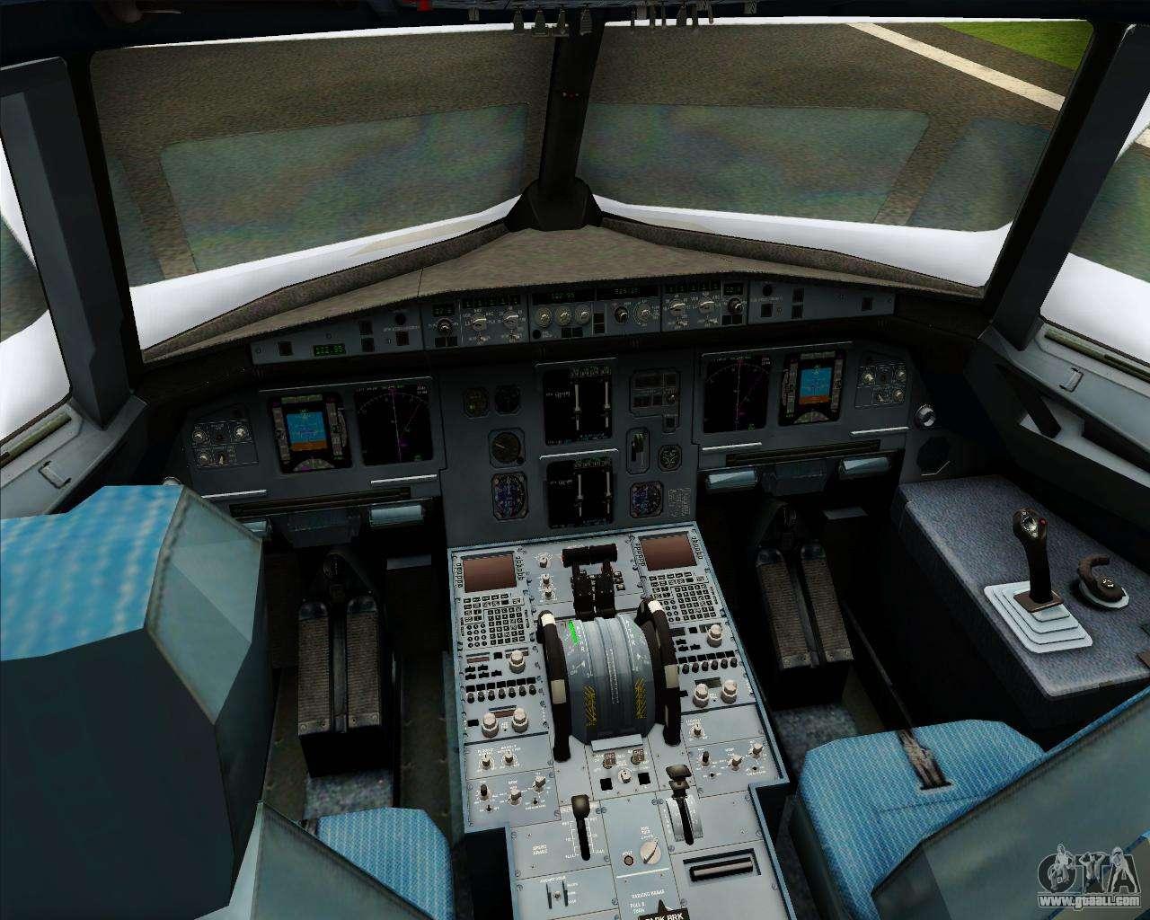 Airbus A320 200 Cebu Pacific Air For GTA San Andreas Interior