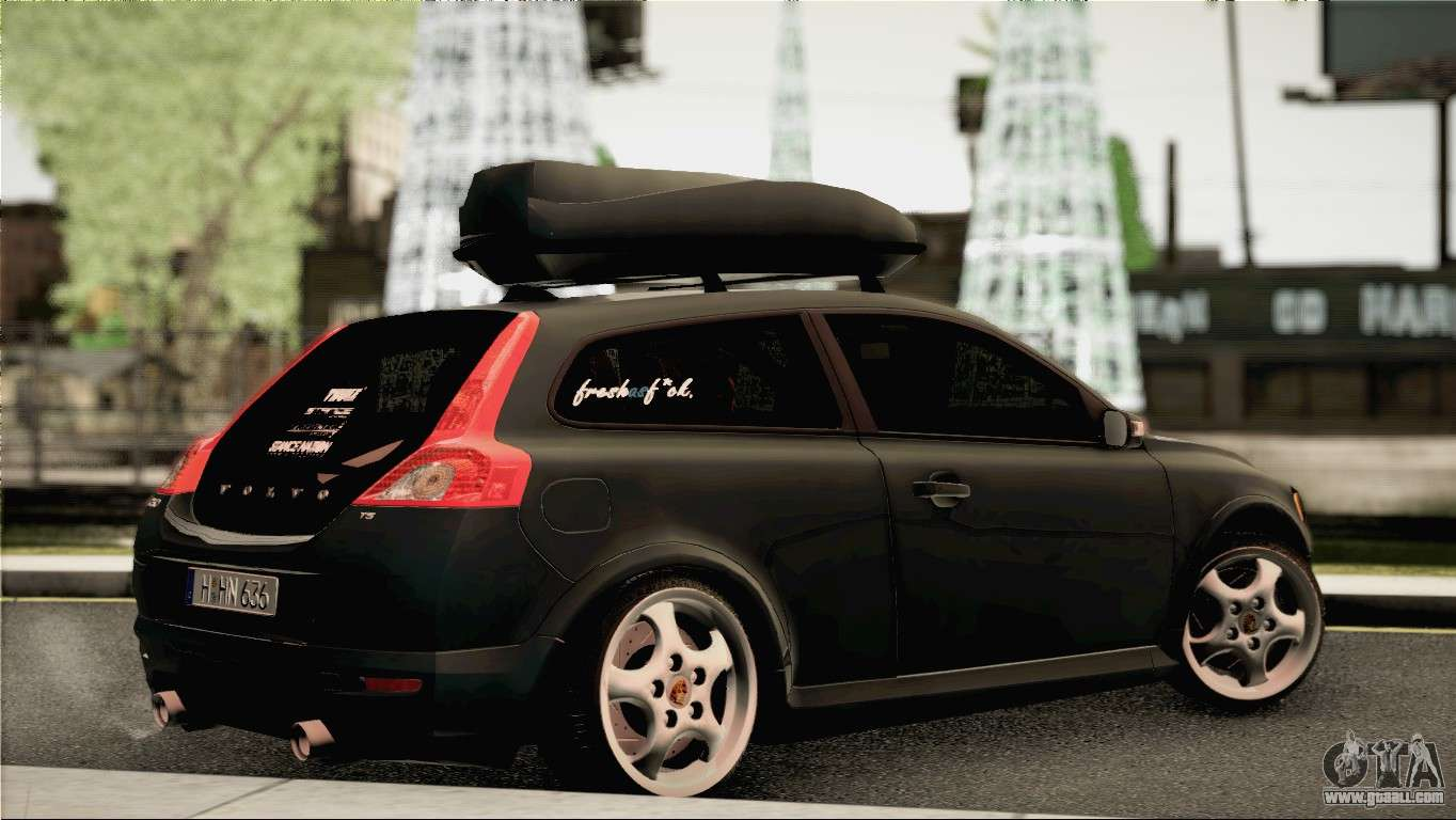 Volvo C30 Stanced for GTA San Andreas
