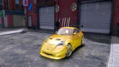 Nissan 350Z Fast And Furious Tokyo Drift for GTA 4