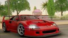 Ferrari F40 Competizione Black Revel for GTA San Andreas