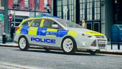 Met Police Ford Focus Estate IRV ELS 8 2013 for GTA 4
