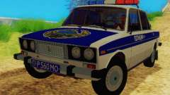 VAZ-2106 Police for GTA San Andreas