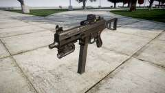 German submachine gun HK UMP 45 target