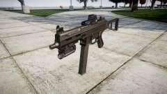 German submachine gun HK UMP 45 target for GTA 4
