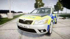 Skoda Octavia vRS Comb Metropolitan Police [ELS] for GTA 4