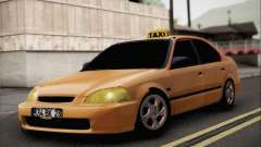Honda Civic Fake Taxi for GTA San Andreas