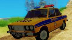 VAZ 2106 GAI for GTA San Andreas
