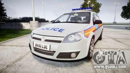 Vauxhall Astra 2010 Metropolitan Police [ELS] for GTA 4